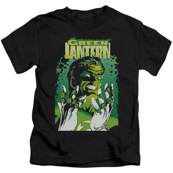 Jla Gl #49 Cover Short Sleeve Juvenile Black T-Shirt