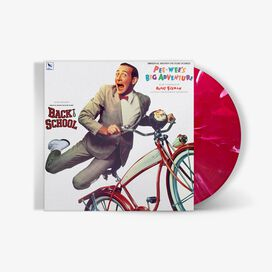 Danny Elfman & the National Philharmonic Orchestra - Pee Wee's Big Adventure Original Motion Picture Score [Exclusive Red with White Swirl Vinyl]
