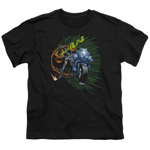 Batman Batcycle Short Sleeve Youth T-Shirt