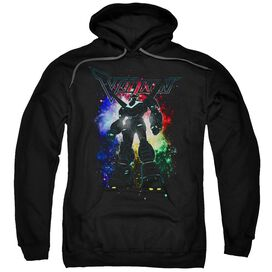 Voltron Galactic Defender Adult Pull Over Hoodie