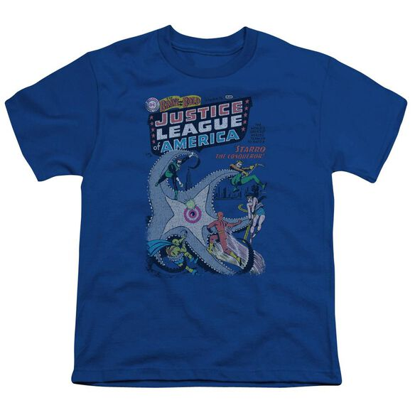 Dc No 28 Short Sleeve Youth Royal T-Shirt