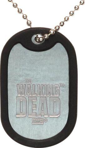 Walking Dead Property Dog Tag