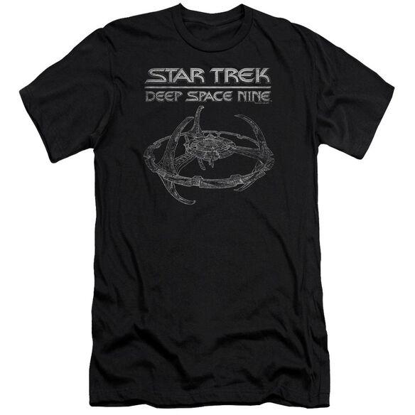Star Trek Ds9 Station Premuim Canvas Adult Slim Fit