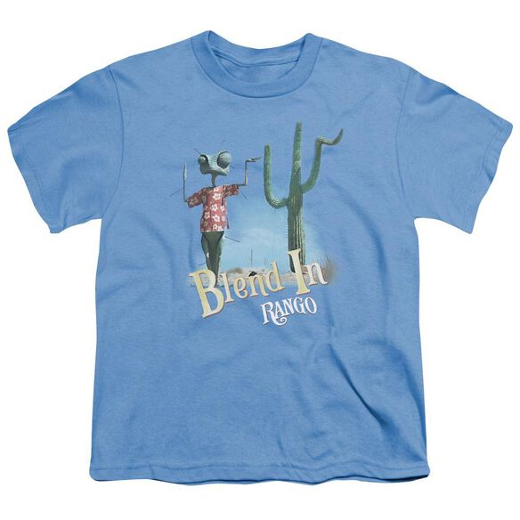 Rango Blend In Short Sleeve Youth Carolina T-Shirt