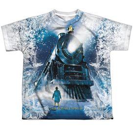 Polar Express Journey Short Sleeve Youth Poly Crew T-Shirt