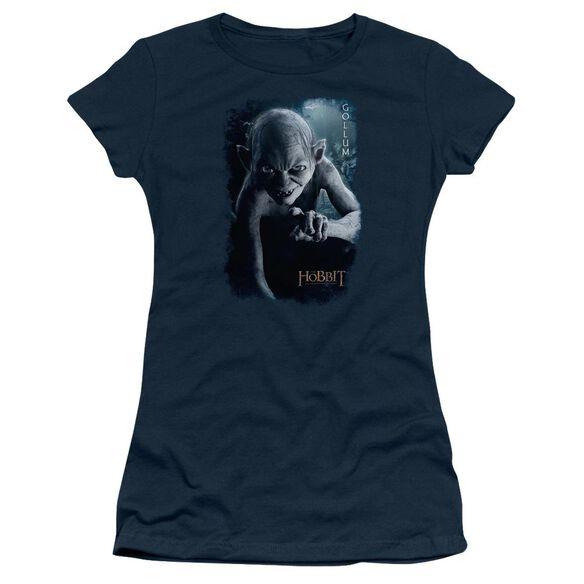 The Hobbit Gollum Poster Short Sleeve Junior Sheer T-Shirt