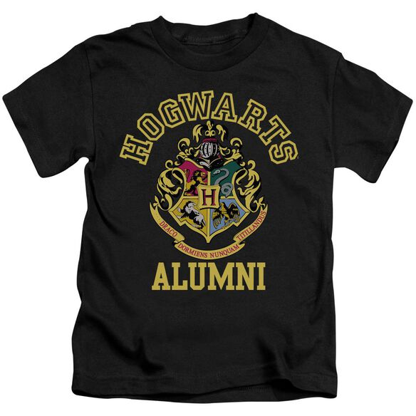 Harry Potter Hogwarts Alumni Short Sleeve Juvenile Black T-Shirt
