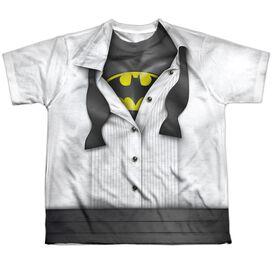 Batman Im Batman Short Sleeve Youth Poly Crew T-Shirt