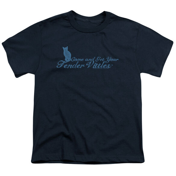 TENDER VITTLES COME AND GET EM - S/S YOUTH 18/1 - NAVY T-Shirt