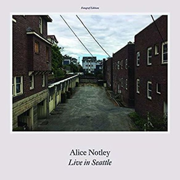 Alice Notley - Live In Seattle