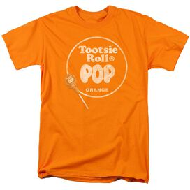 TOOTSIE ROLL POP LOGO-S/S ADULT 18/1 - ORANGE T-Shirt