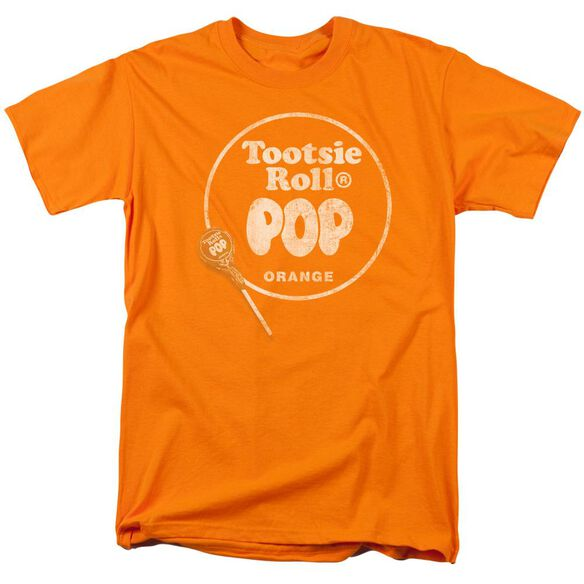 Tootsie Roll Pop Logo Short Sleeve Adult T-Shirt
