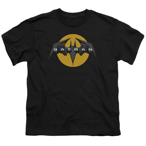 Batman Unlimited Tech Logo Short Sleeve Youth T-Shirt