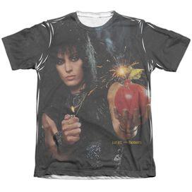 Joan Jett Cherry Bomb Adult Poly Cotton Short Sleeve Tee T-Shirt