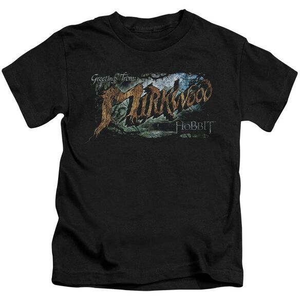 Hobbit Greetings From Mirkwood Short Sleeve Juvenile T-Shirt