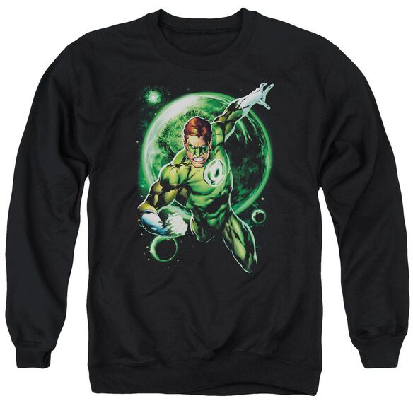Green Lantern Galaxy Glow Adult Crewneck Sweatshirt