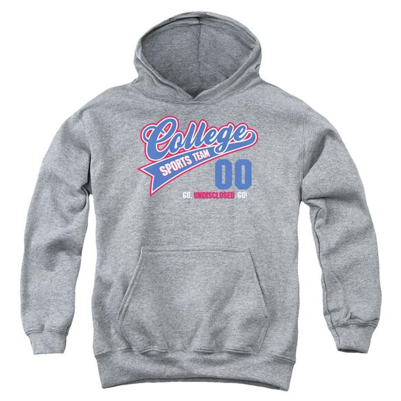 College Sports Team Youth Pull Over Hoodie Athletic