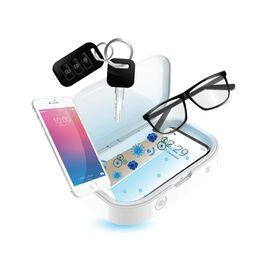 Phone & Accessory UV Light Sanitizer Box