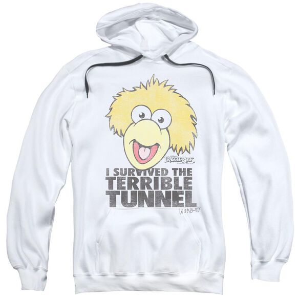 Fraggle Rock Terrible Tunnel Adult Pull Over Hoodie