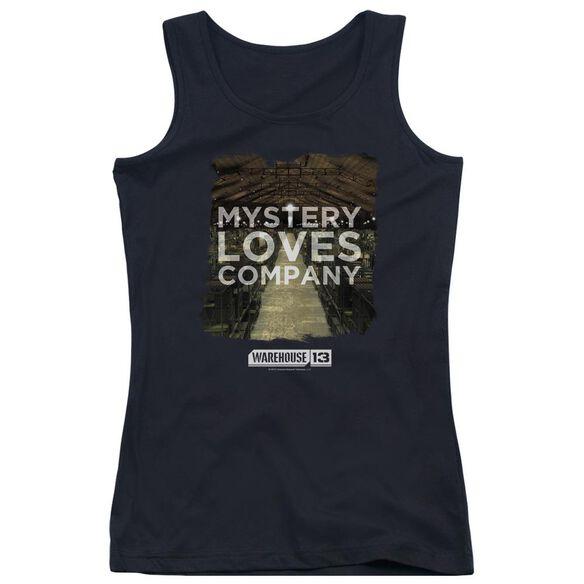 Warehouse 13 Mystery Loves Juniors Tank Top