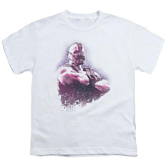 Dark Knight Rises Spray Bane Short Sleeve Youth T-Shirt