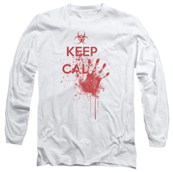 Keep Cal Long Sleeve Adult T-Shirt