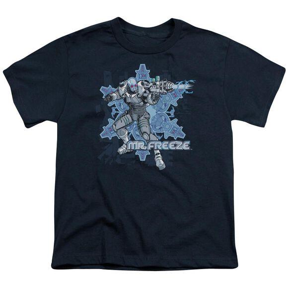 Batman Mr Freeze Short Sleeve Youth T-Shirt