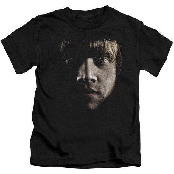 Harry Potter Ron Poster Head Short Sleeve Juvenile T-Shirt