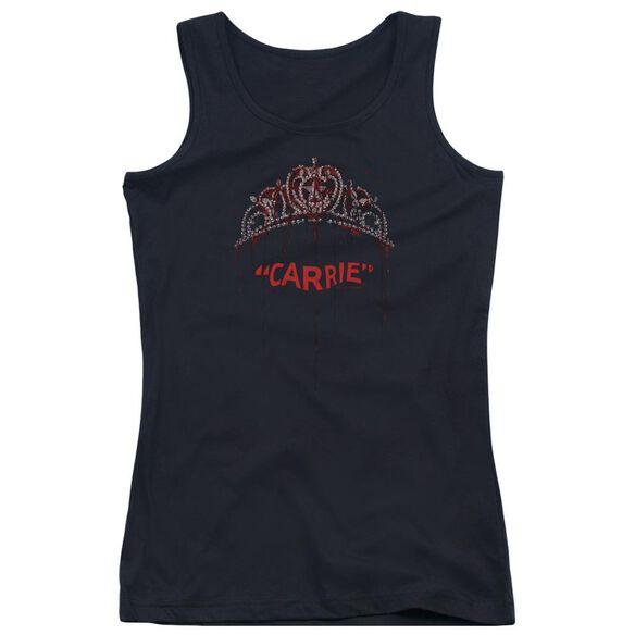 Carrie Prom Queen Juniors Tank Top