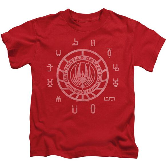 BSG COLONIES - S/S JUVENILE 18/1 - RED - T-Shirt