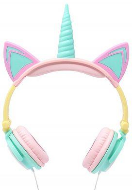 Gabba Goods Unicorn LED Headphones [Rainbow]