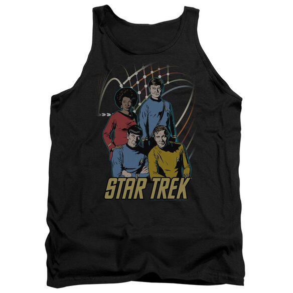 Star Trek Warp Factor 4 Adult Tank