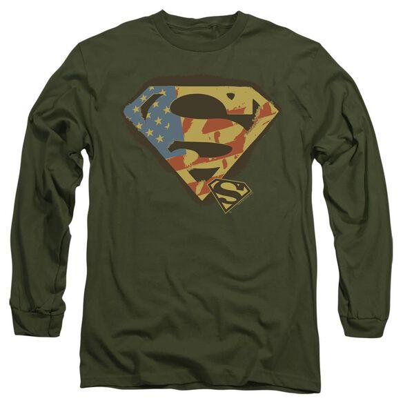 SUPERMAN NOT AFRAID-L/S ADULT T-Shirt