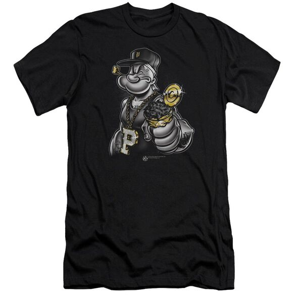 Popeye Get More Spinach Short Sleeve Adult T-Shirt
