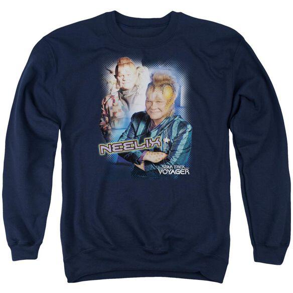 Star Trek Neelix Adult Crewneck Sweatshirt