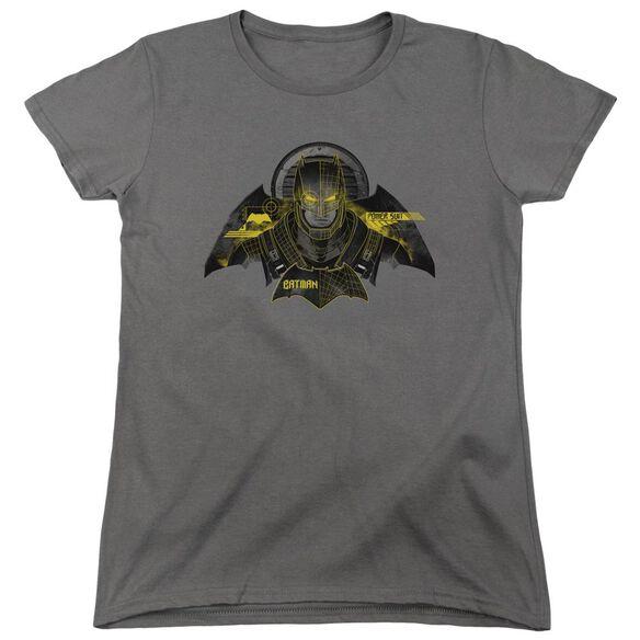 Batman V Superman Batman Tech Short Sleeve Womens Tee T-Shirt