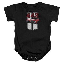 Oldsmobile 442 Infant Snapsuit Black
