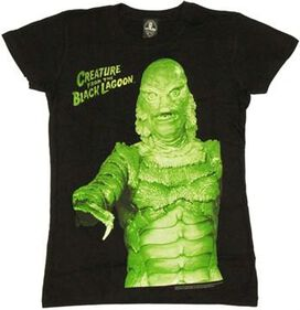 Creature from the Black Lagoon Reach Baby Tee