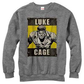 Luke Cage Name Poster SweaT-Shirt