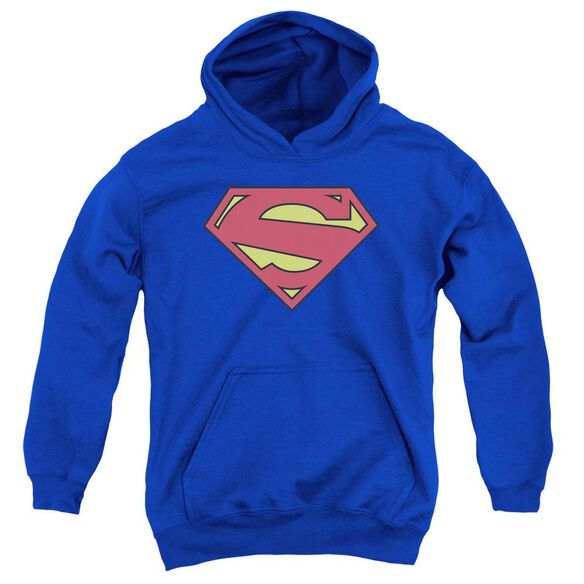 Superman New 52 Shield Youth Pull Over Hoodie