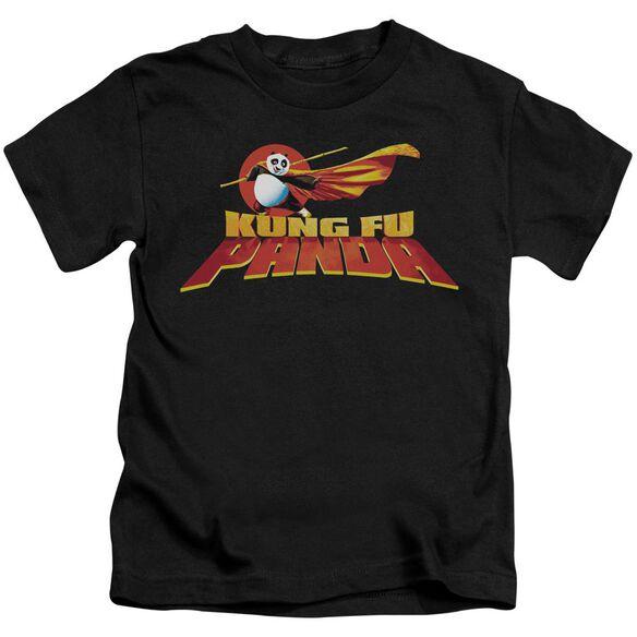 Kung Fu Panda Logo Short Sleeve Juvenile T-Shirt