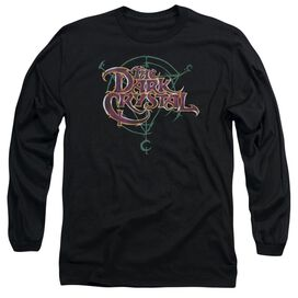 Dark Crystal Symbol Logo Long Sleeve Adult T-Shirt