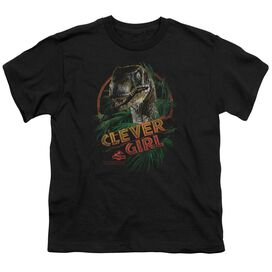 JURASSIC PARK CLEVER GIRL - S/S YOUTH 18/1 T-Shirt