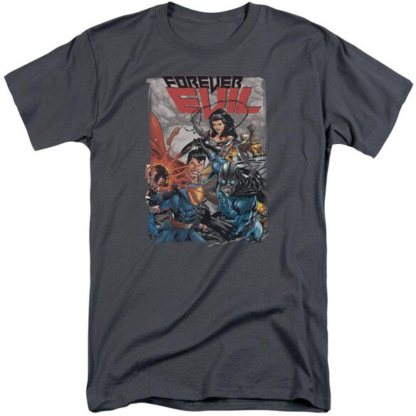Jla Crime Syndicate Short Sleeve Adult Tall T-Shirt