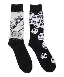 Nightmare Before Christmas Crew Socks [2 pack]