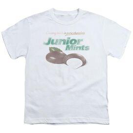 Tootsie Roll Junior Mints Logo Short Sleeve Youth T-Shirt