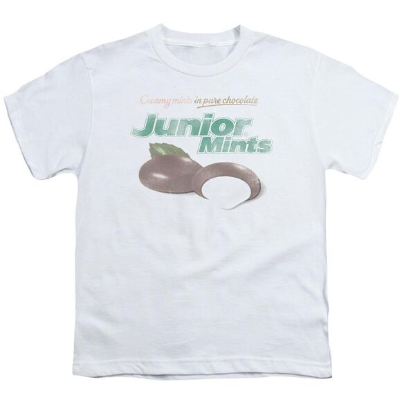 Tootsie Roll Junior Mints Logo Short Sleeve Youth T-Shirt