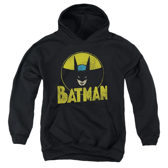 Dc Circle Bat Youth Pull Over Hoodie