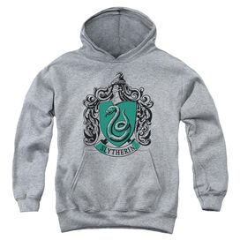 Harry Potter Slytherin Crest Youth Pull Over Hoodie Athletic
