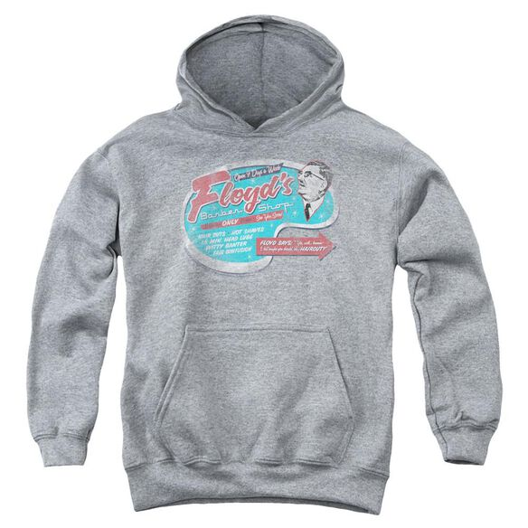 Mayberry Floyd's Barber Shop Youth Pull Over Hoodie
